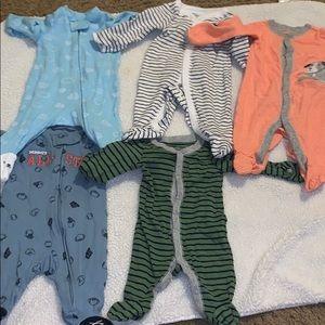 Other - 5 baby boy bodysuits